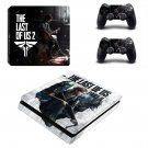 The Last of us 2 decal skin for PS4 Slim Console & Controllers
