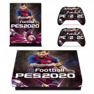Pro Evolution Soccer 2020 decal skin for Xbox one X Console & Controllers
