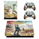 The Outer Worlds decal skin for Xbox one X Console & Controllers