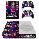 Pro Evolution Soccer 2020 decal skin for Xbox one S Console & Controllers