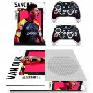 FIFA 20 decal skin for Xbox one S Console & Controllers