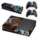 The Witcher decal skin for Xbox one Console & Controllers