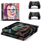 Joker Joaquin Phoenix decal skin for PlayStation 4 Console & Controllers