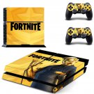 Fornite decal skin for PlayStation 4 Console & Controllers