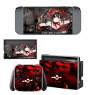 Kurumi tokisaki decal skin for Nintendo Switch Console & Controllers