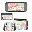 Little Twin Stars decal skin for Nintendo Switch Console & Controllers