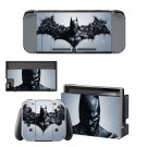 Batman decal skin for Nintendo Switch Console & Controllers