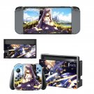 Fate stay night decal skin for Nintendo Switch Console & Controllers