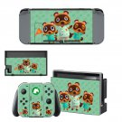 Animal Crossing New horizons decal skin for Nintendo Switch Console & Controllers