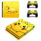 Pokemon Pikachu decal skin for PS4 Pro Console & Controllers