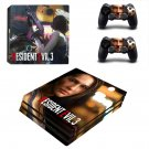 Resident Evil 3 decal skin for PS4 Pro Console & Controllers