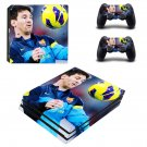 Messi decal skin for PS4 Pro Console & Controllers