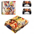 One Piece decal skin for PS4 Pro Console & Controllers
