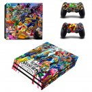 Super Smash Bros Ultimate decal skin for PS4 Pro Console & Controllers