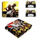 Persona 5 Royal decal skin for PS4 Slim Console & Controllers