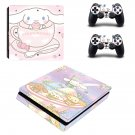 Cinnamoroll decal skin for PS4 Slim Console & Controllers