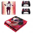 Joker Joaquin Phoenix decal skin for PS4 Slim Console & Controllers