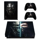 Dishonored 2 decal skin for Xbox one X Console & Controllers