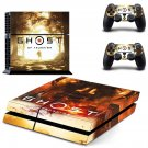Ghost of Tsushima decal skin for PlayStation 4 Console & Controllers