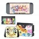 Pokemon Pikachu decal skin for Nintendo Switch Console & Controllers