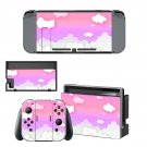 Cloud decal skin for Nintendo Switch Console & Controllers