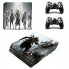 Assassin's creed connor decal skin for PS4 Pro Console & Controllers