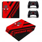 Chicago Bulls decal skin for PS4 Pro Console & Controllers