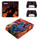 Fortnite summer splash decal skin for PS4 Pro Console & Controllers