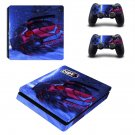 Dirt 5 decal skin for PS4 Slim Console & Controllers