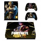 Fortnite battle pass decal skin for Xbox one X Console & Controllers