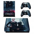 Cyberpunk 2077 decal skin for Xbox one X Console & Controllers
