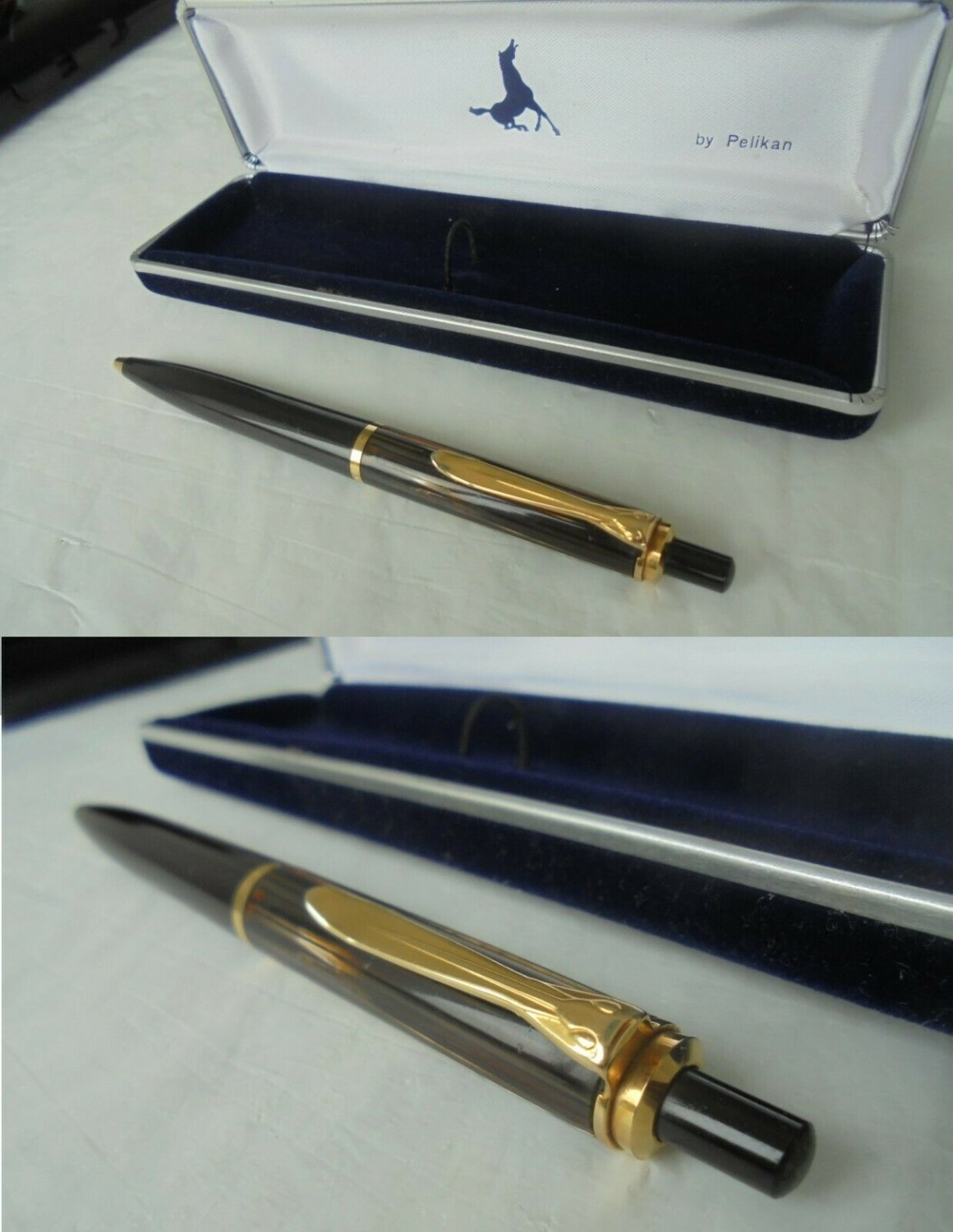 PELIKAN K 150 BALL PEN K150 TIGER BROWN +BOX ORIGINAL