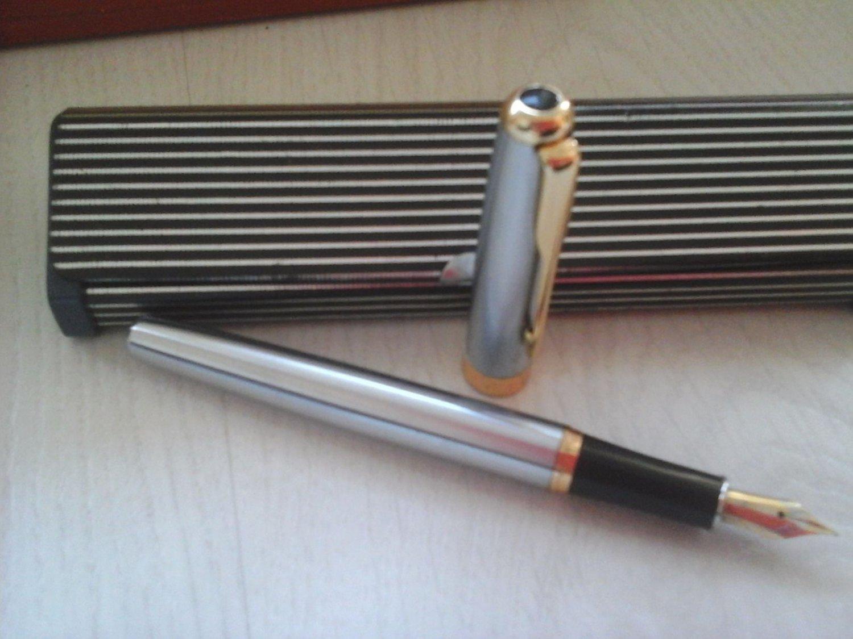 BAOER 388 Fountain Pen in Steel ORIGINAL