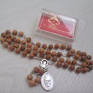 ROSARY JOSEMARIA ESCRIVA DE BALAGUER IN WOOD ORIGINAL OPUS FROM 2002 SANTIFICATION