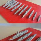 10 MODELS MINIATURE BOATS OF THE CATAN SPANISH MARINES IN LEAD 1940s ORIGINAL