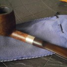 SAVINELLI SILVER 127 ITALY PIPE IN WOOD AND SILVER 925 SMOKED PIPE FROM 1980s