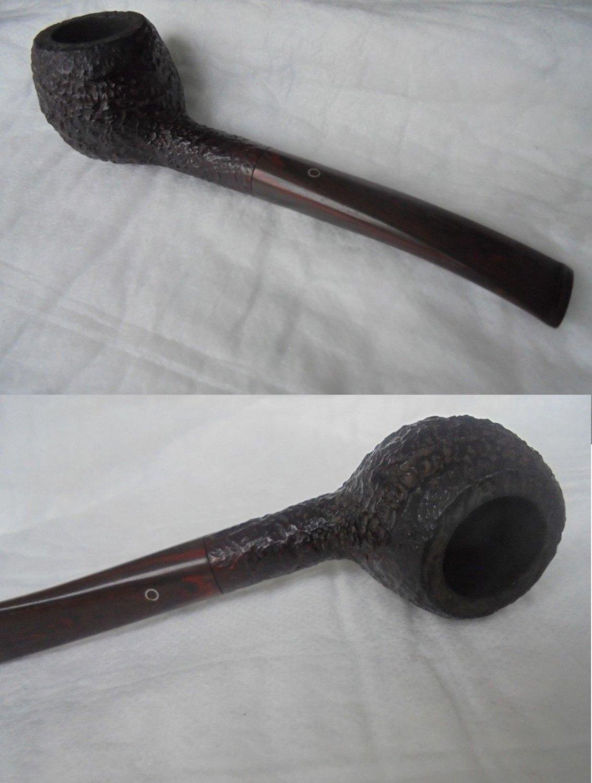 ASHTON BRINDLE XX 12 SANDBLAST SMOKED PIPE ORIGINAL