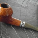 MASTRO BERALDI PIPE IN WOOD WITH RING IN METAL Original from 1990s
