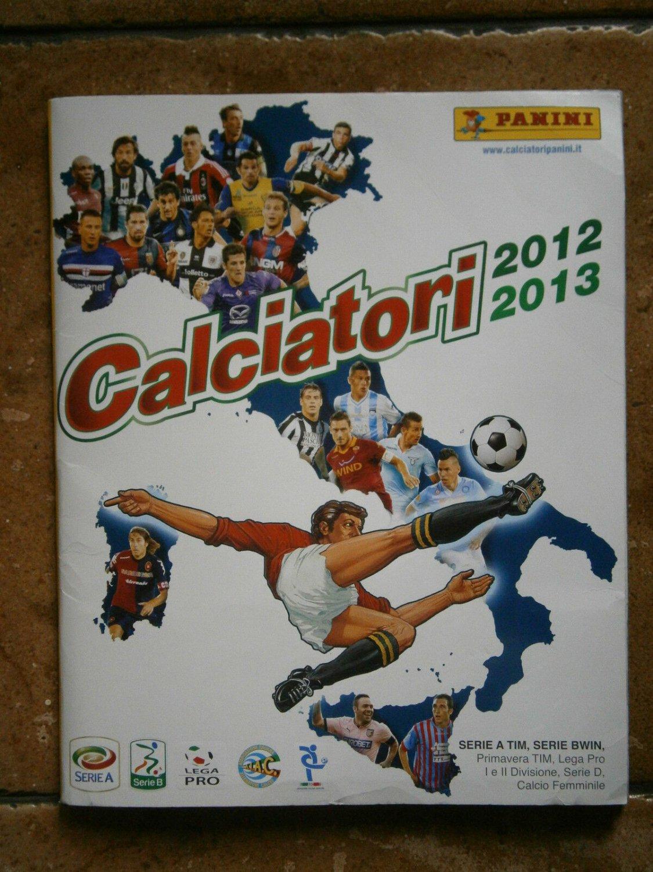 CALCIATORI 2012 2013 12 13 album figurine PANINI COMPLETO + TUTTI AGGIORNAMENTI