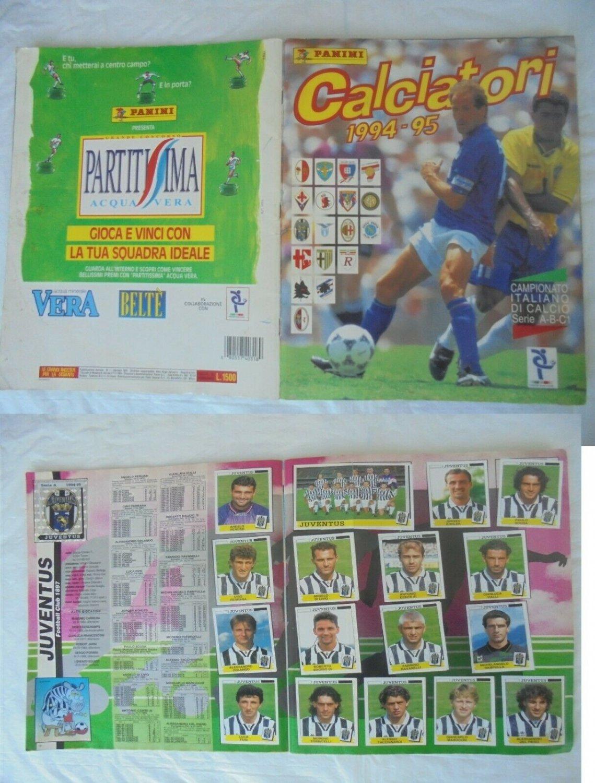 CALCIATORI 1994 1995 94 95 album figurine PANINI COMPLETO CON INSERTO ORIGINALE