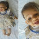 ROGEL COLLECTION DOLL baby with original clothes cm 27 FROM 1980s