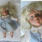 ROGEL COLLECTION DOLL with original clothes bambola da collezione con vestiti Original