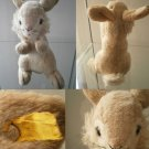 STEIFF GERMANY RONNY HASE RABBIT CONIGLIO 2961/22 ORIGINAL CON BOTTONE cm 22