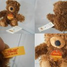 STEIFF GERMANY CHARLY ORSO BEAR ORSACCHIOTTO 012846 ORIGINALE CON BOTTONE cm 16