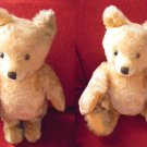 STEIFF GERMANY ORIGINAL TEDDY BEAR ANNI '50/'60 ORSO ORSACCHIOTTO +BOTTONE cm 36