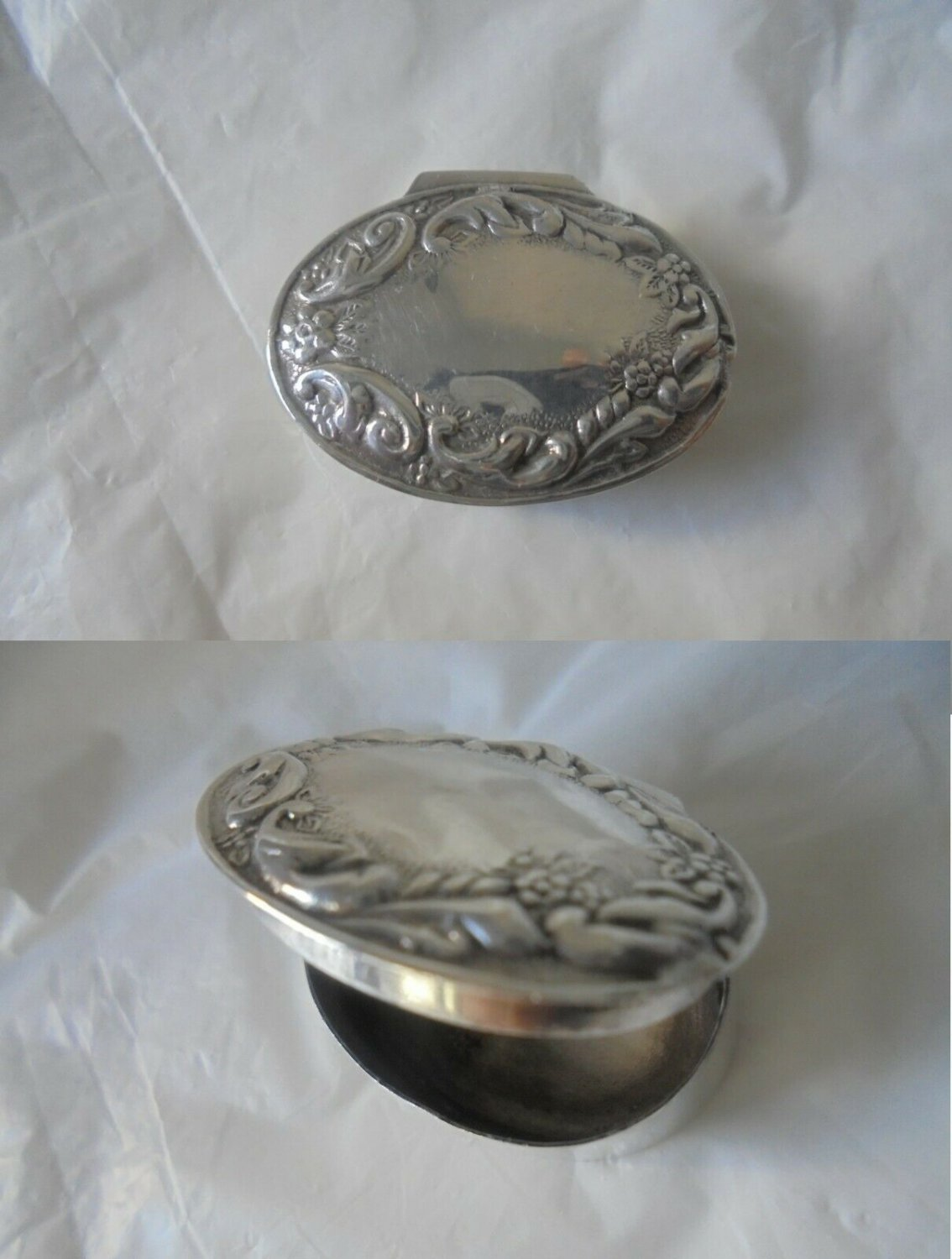 PILL BOX IN STERLING SILVER 925 MADE BY DP DOUGLAS PELL FROM 1980s