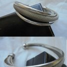 BRACELET IN STERLING SILVER 925 WITH 3 ARCHES + GIFT BOX ORIGINAL