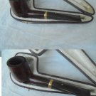 DUNHILL RUSSET 1103 PIPA IN RADICA E ORO 18KT 750 FUMATA SMOKED GOLD PIPE ORIGINAL