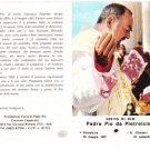 RELIC EX INDUMENDIS OF PADRE PIO FROM PIETRELCINA ITALY SERVO DI DIO 1971