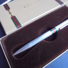 GUCCI Ball pen in STERLING SILVER 925 and Laque in gift box Original